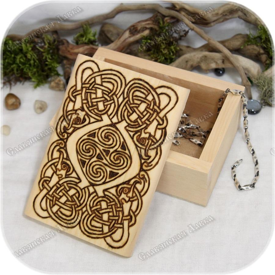 Кедровая шкатулка «Дорога жизни»