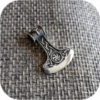 Богатырский серебряный оберег «Секира Мира»