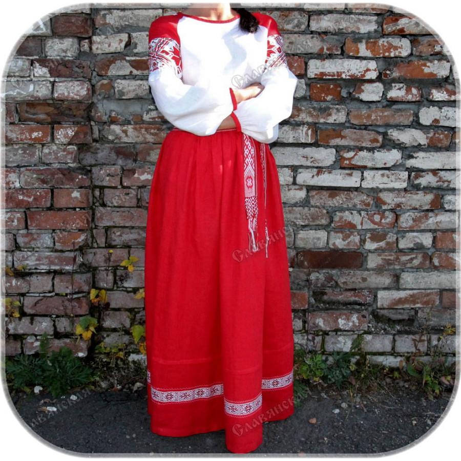 Женский традиционный наряд