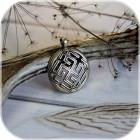Оберег «Сварожич» (латунь/серебро)