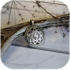 Оберег «Перуница» (латунь/серебро)