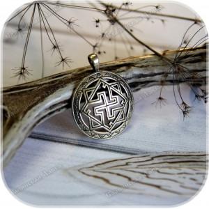 Оберег «Валькирия» (латунь/серебро)