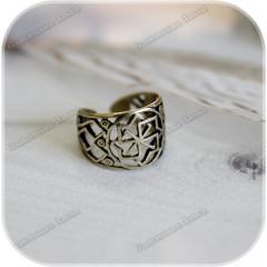 Перстень «Молвинец» (латунь/серебро)