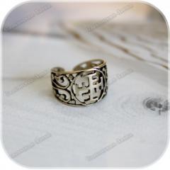 Перстень «Ратиборец» (латунь/серебро)