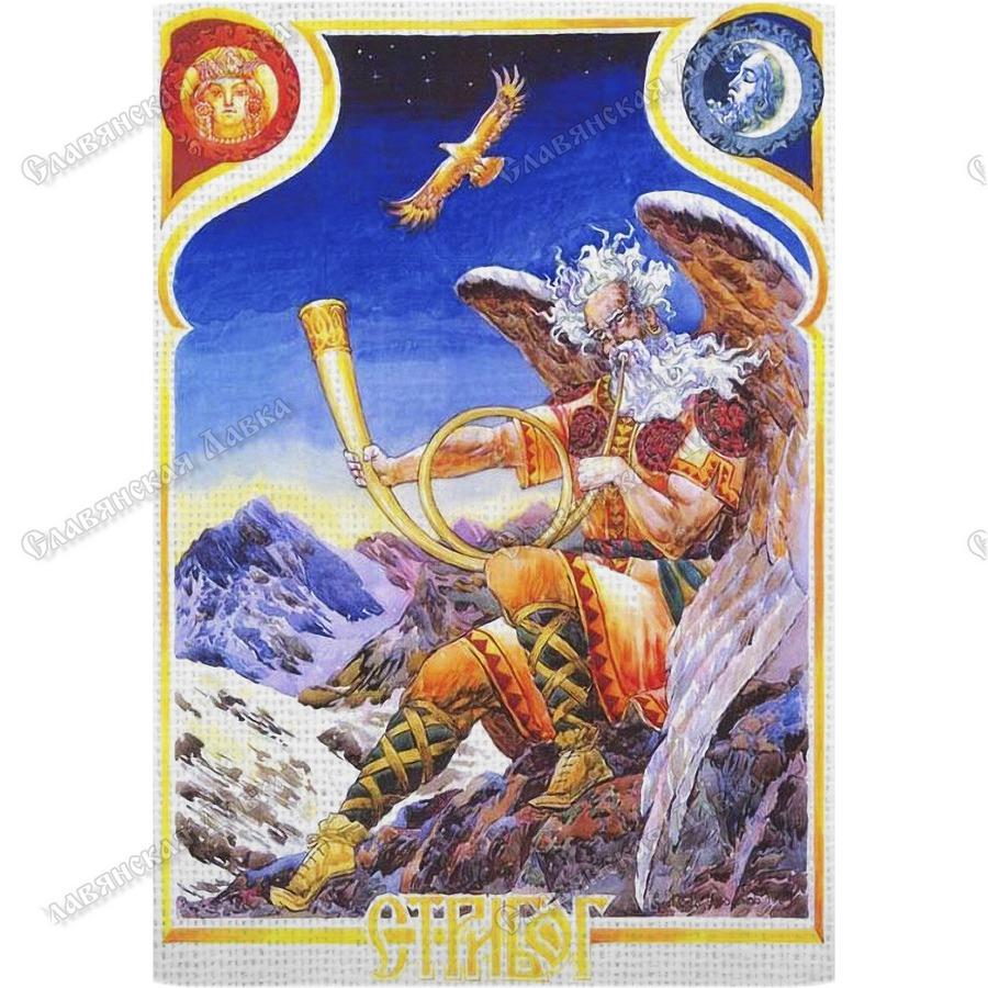 Картина на холсте «Стрибог»