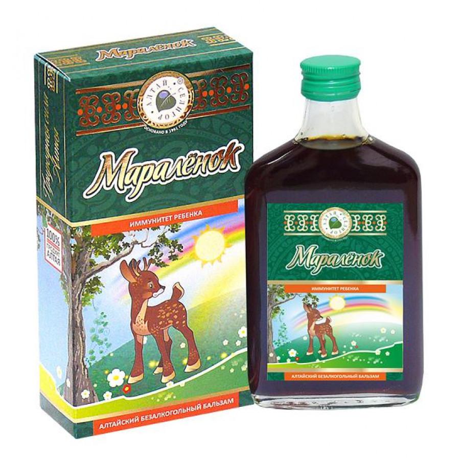 Алтайский безалкогольный бальзам «Мараленок» 250 мл