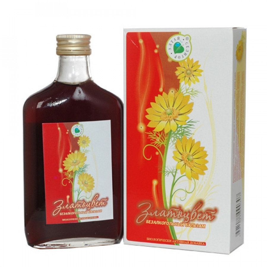 Безалкогольный бальзам «Златоцвет» (250 мл)