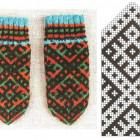 Узорные рукавички