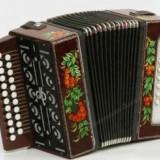 Славянский музыкальный инструмент Гармонь