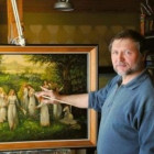 Русский живописец Александр Угланов