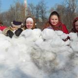Славянские забавы «Взятие городка»