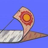 Берестяной кораблик
