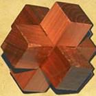 Головоломка деревянная «Перекресток»