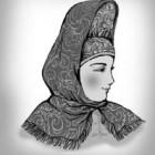 Кика – одна из разновидностей головного убора «мужней» женщины