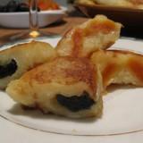 Картофельные котлеты с начинкой-черносливом