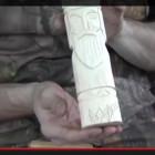 Вырезание кумира. Видео