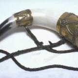 Славянский музыкальный инструмент Рог
