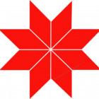 Символ Крест Сварога (Алатырь)