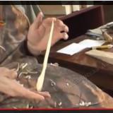 Изготовление кедровой шпильки. Видео