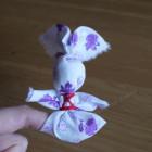 Обережная кукла-игрушка «Зайчик на пальчик»