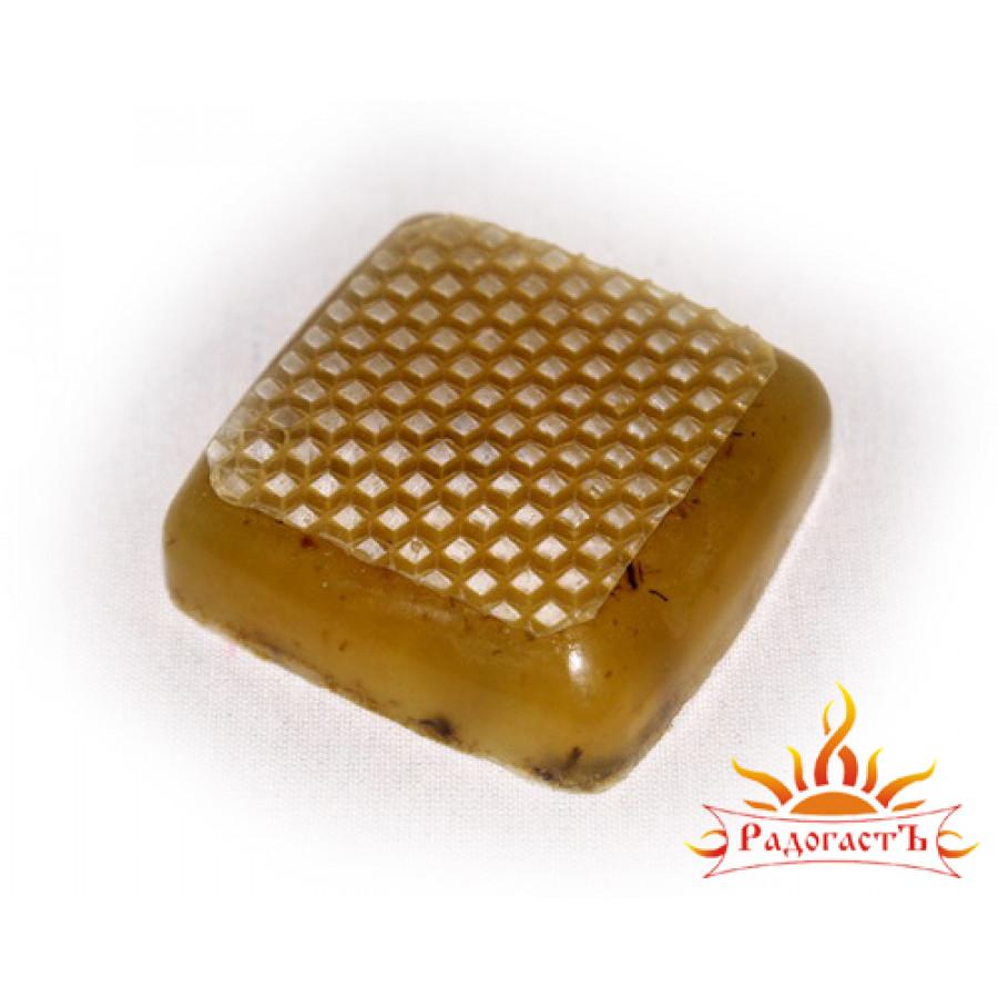 Мыло с вощиной «Медовое»