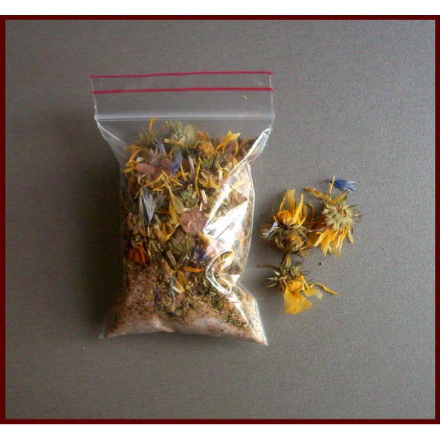 Чай для ванны «Лечебная календула»