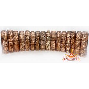 Большой пантеон славянских богов (16 кумиров)