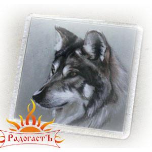 Магнит «Волк 4»