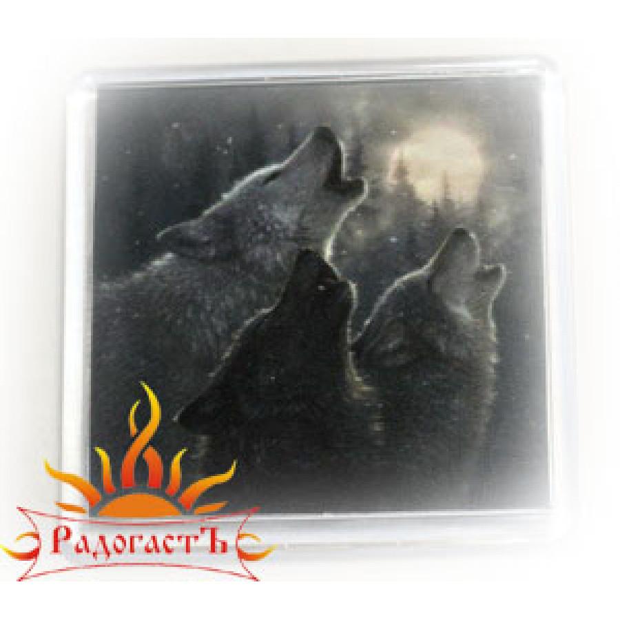 Магнит «Волки»