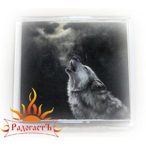 Магнит «Воющий волк»