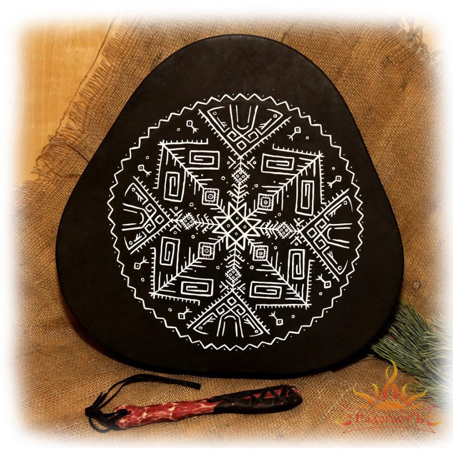 Треугольный славянский бубен «Мир предков»