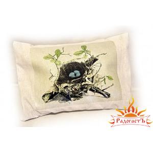 Подушка «Соловьиное гнездо»