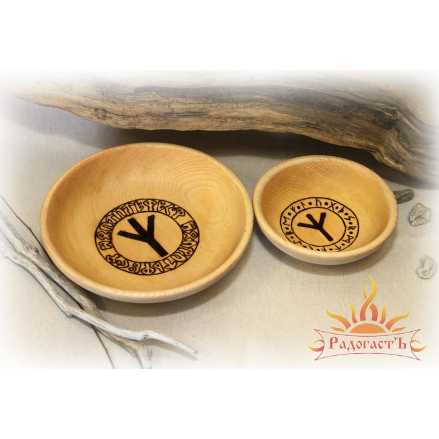 Тарелка и пиала «Руника»