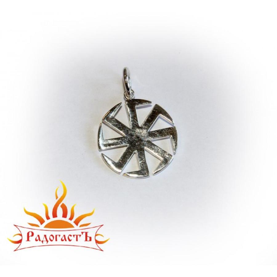 Кулон из серебра «Коловрат»