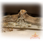 Женский кулон из серебра «Триксель»