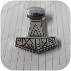 Кулон из серебра «Молот Тора Датский»