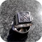 Серебряный перстень «Родимич»