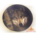 Коврик для мыши «Волк»