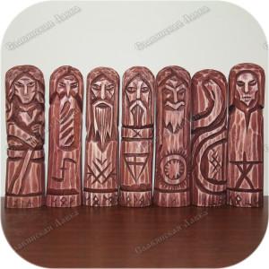 Красный круг тёмных богов «Дети Нави»