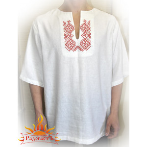 Рубаха мужская (с коротким рукавом)