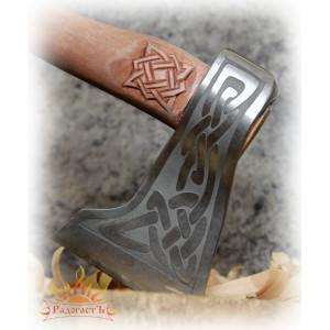 Кованый топор без топорища «Князь»