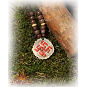 Подвеска из кости «Цветок папоротника»