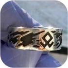 Серебряное кольцо «Эрда»