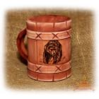 Сувенирная кружка «Медведь»