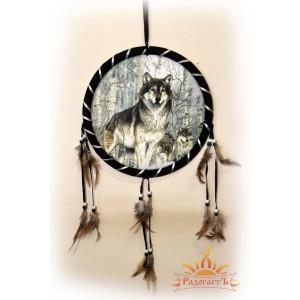Ловец снов «Волки в берёзовой роще»