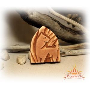 Кедровый магнит «Семаргл»