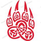 Славянская наклейка «Печать Велеса»