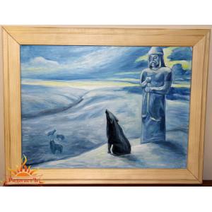 Картина «Волчий вой»