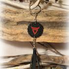 Брелок кожаный «Символ Велеса»