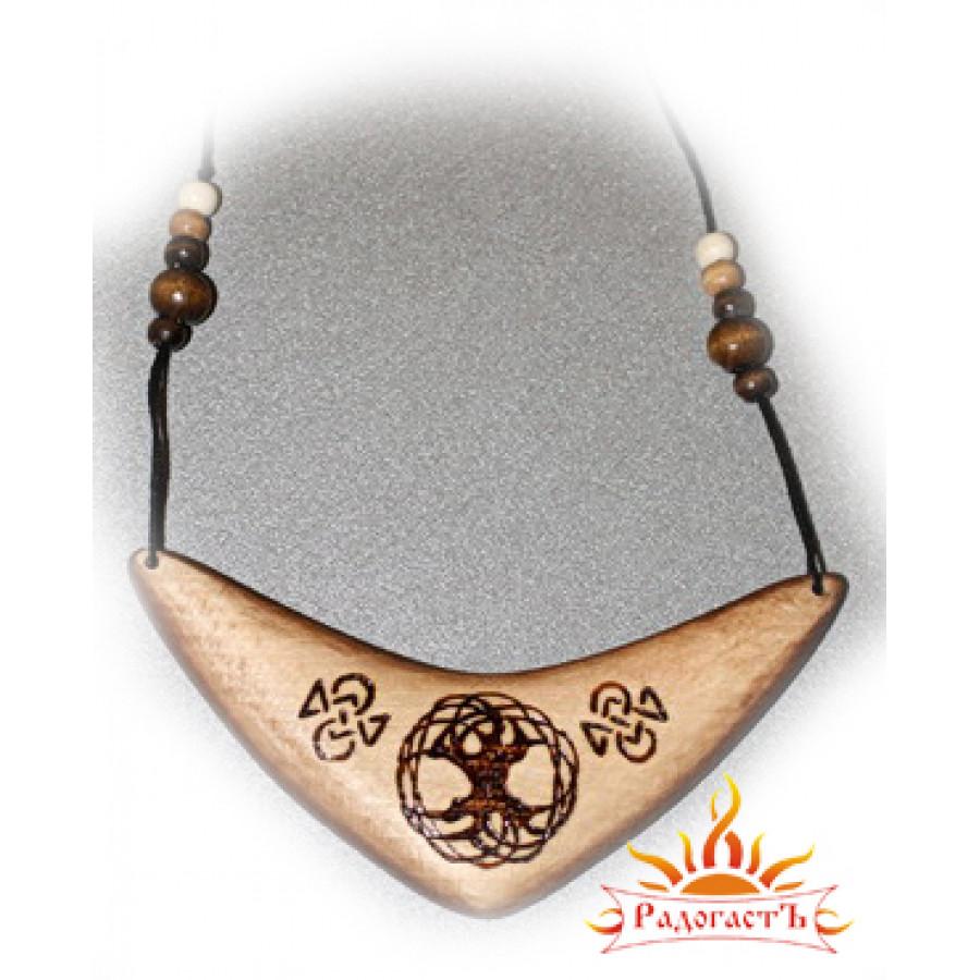 Подвеска-ожерелье «Древо счастья»
